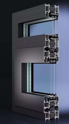 PC80(35.3条)隔热系列内平开窗